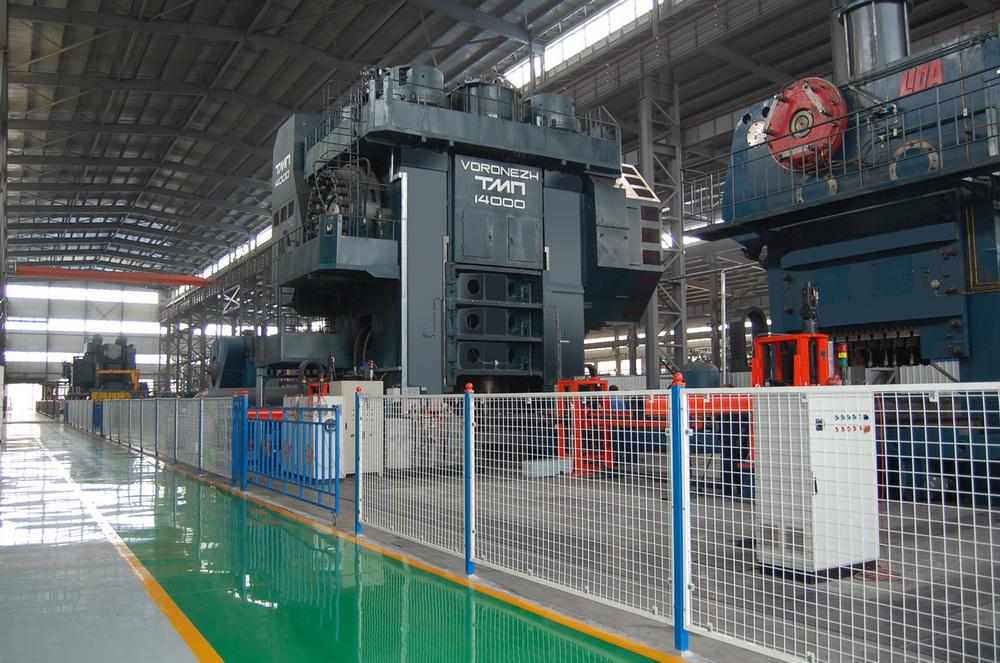 俄羅斯14000噸熱模鍛壓力機