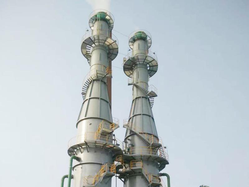 浙江雙兔新材料有限公司煙氣脫硫脫硝工程
