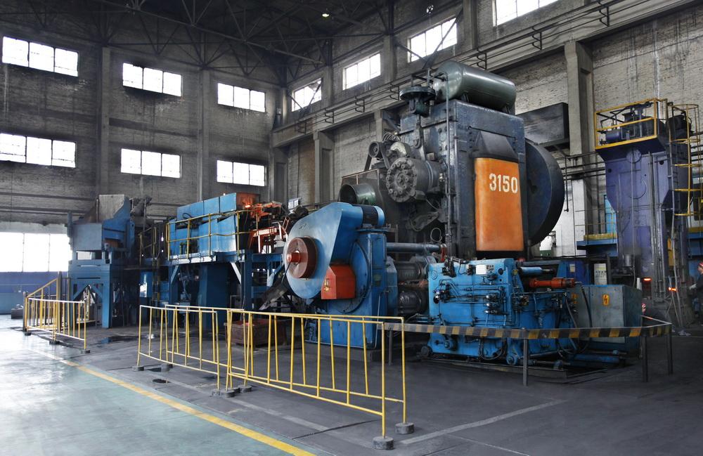 英國MASSY3150噸熱模鍛壓力機