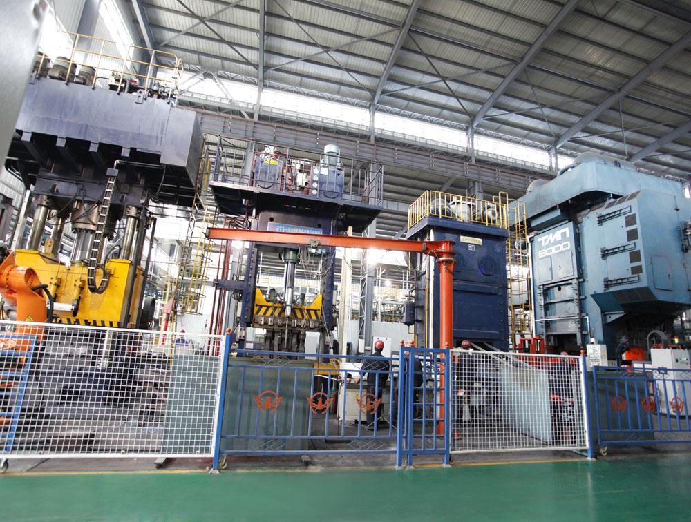8000噸模鍛生產線