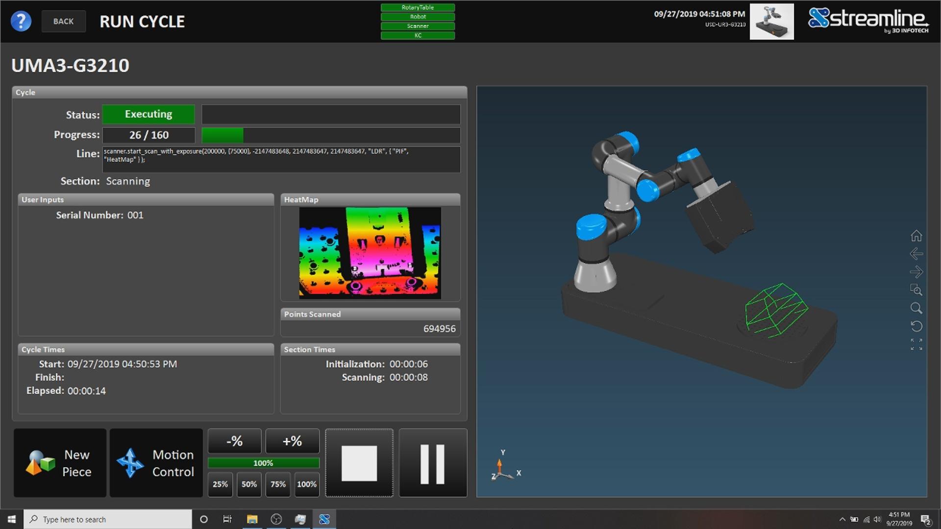 Streamline 检测自动化软件
