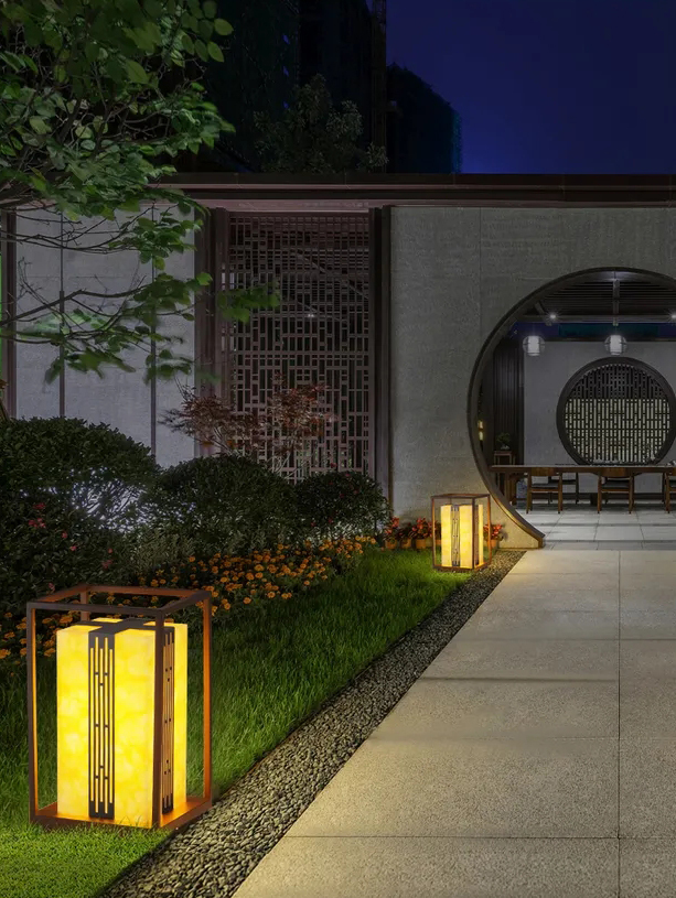 中式草坪燈 / QH-ZCPD10