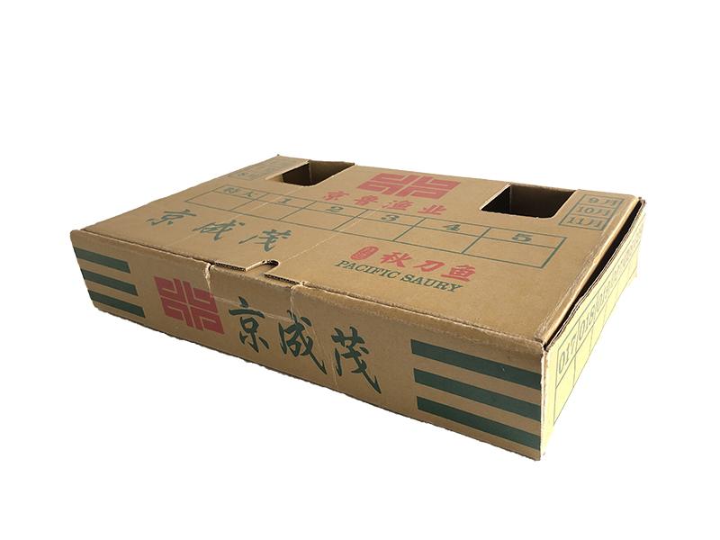 秋刀魚涂蠟紙箱