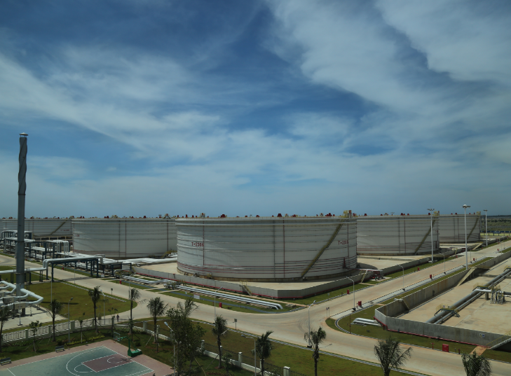 海南華信洋浦石油儲備基地項目(一期工程)監理第一標段