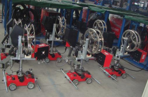 角/平焊縫自動焊接機
