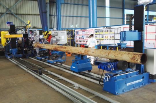 單頭雙驅自動焊接工位