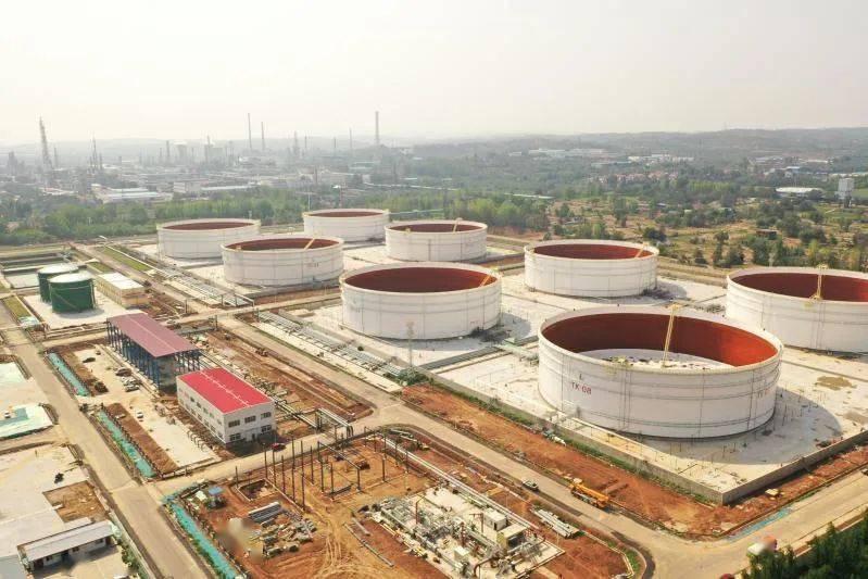 洛陽原油商業儲備基地一期