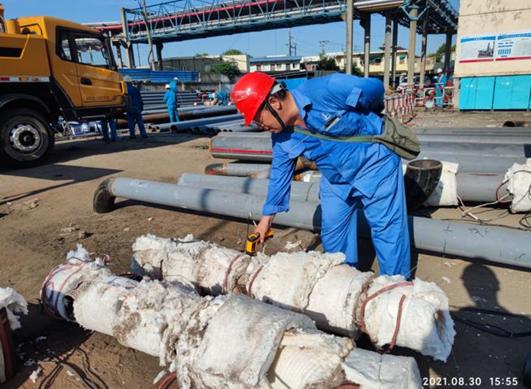 上海高橋石化項目監理部多措并舉確保鉻鉬鋼焊接合格率