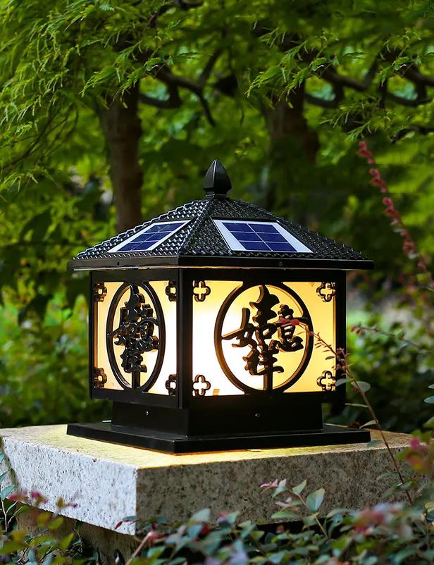 太陽能柱頭燈 / QH-TZTD01