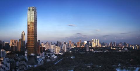 泰國曼谷NIMIT Langsuan住宅樓