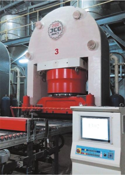 JCY2100 全自動液壓壓磚機