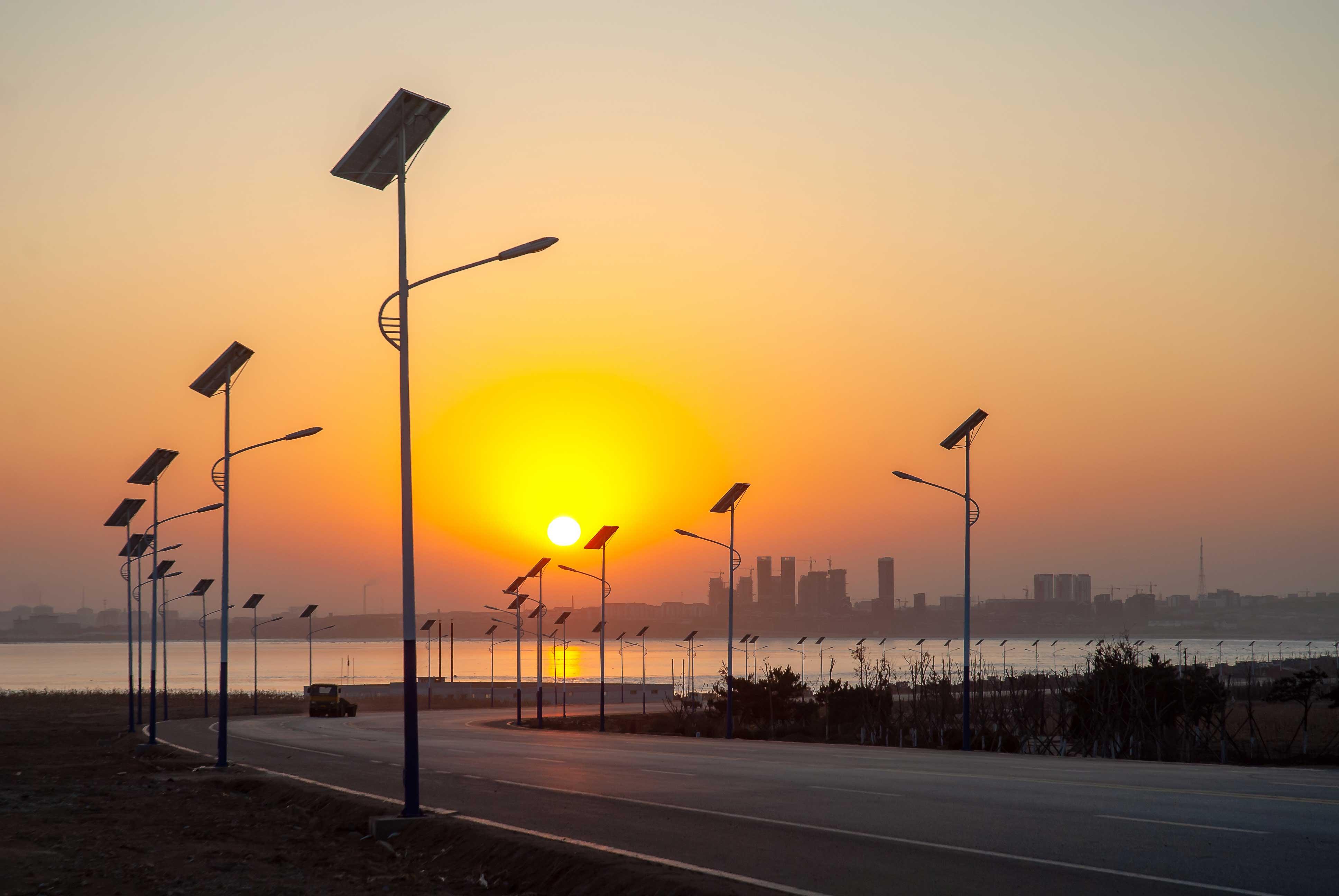 新農村 新發展|太陽能路燈