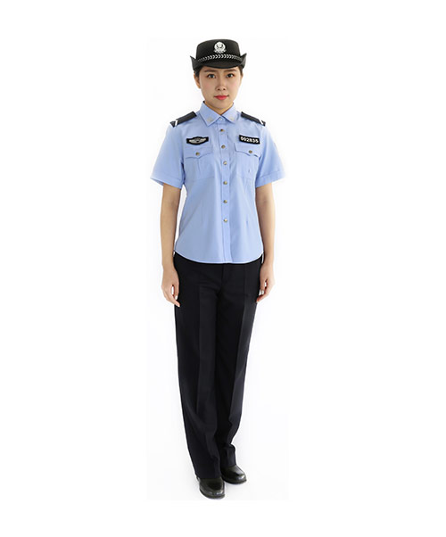 女夏季執勤服
