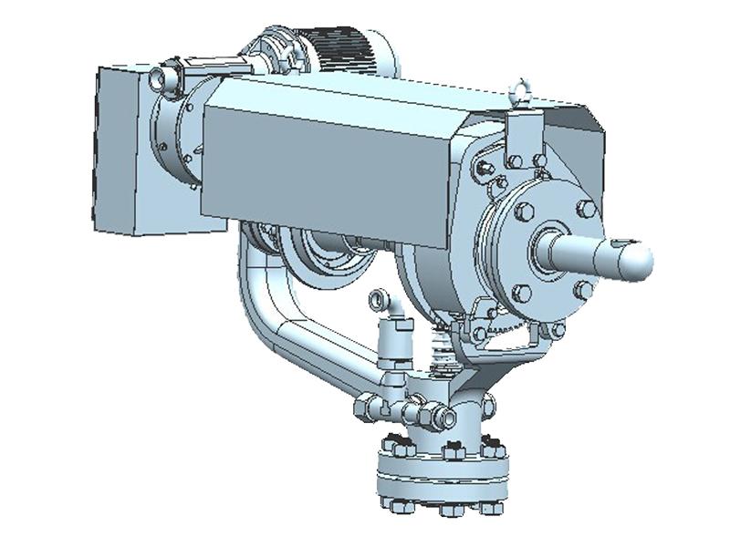 SYD-5型炉膛吹灰器