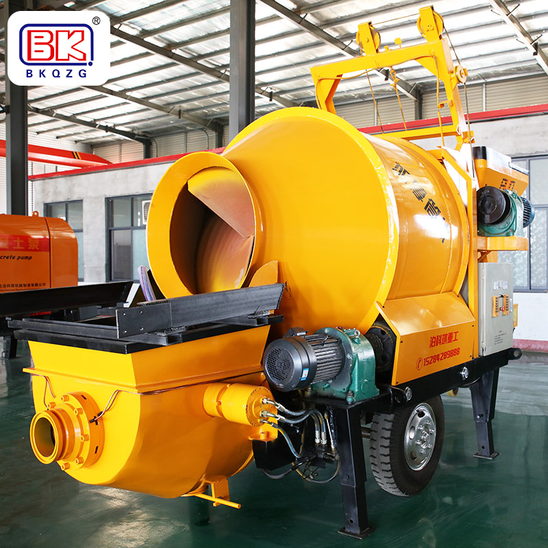 施工中小型混凝土輸送泵如何解決斷流現象?