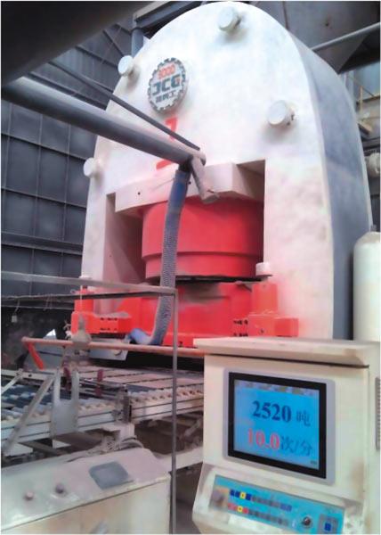 JCY3000 全自動液壓壓磚機