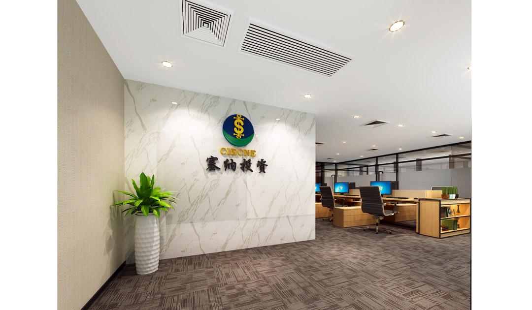 深圳市福田區車公廟金運世紀大廈19F裝修工程