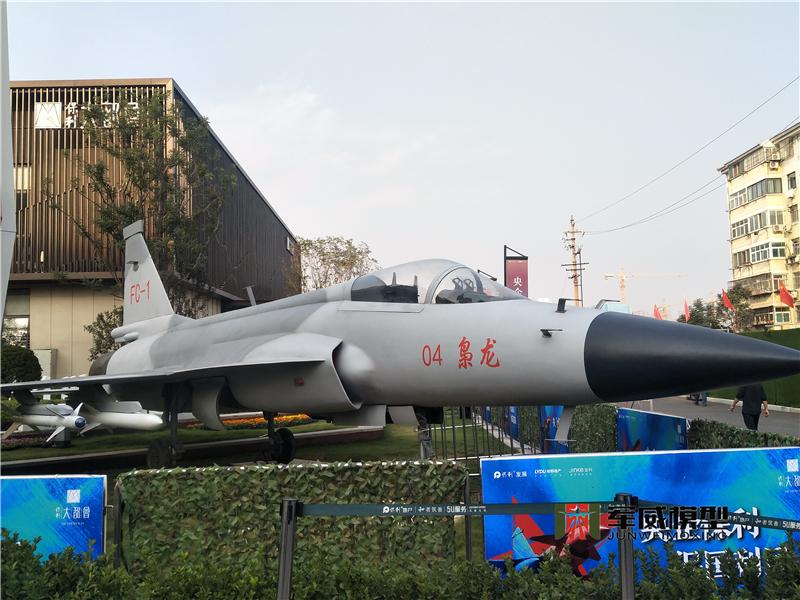 1:1梟龍全尺寸仿真飛機模型