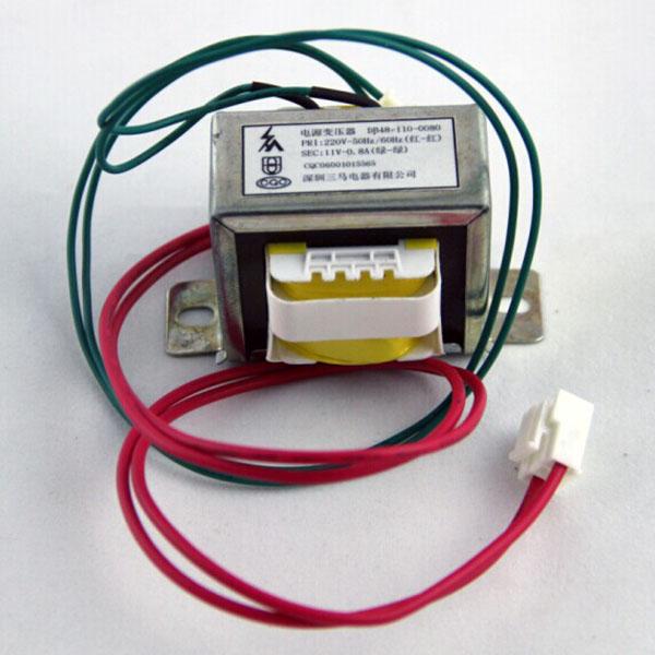蝴蝶app下载SANMA变压器220转110V 互转150mA 正品 电源转换