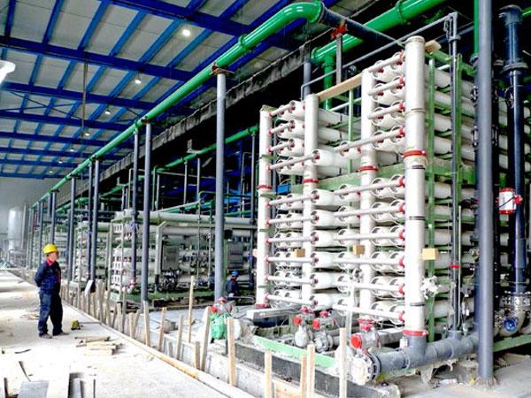 中石化長城能化(寧夏)高鹽水零排放工程
