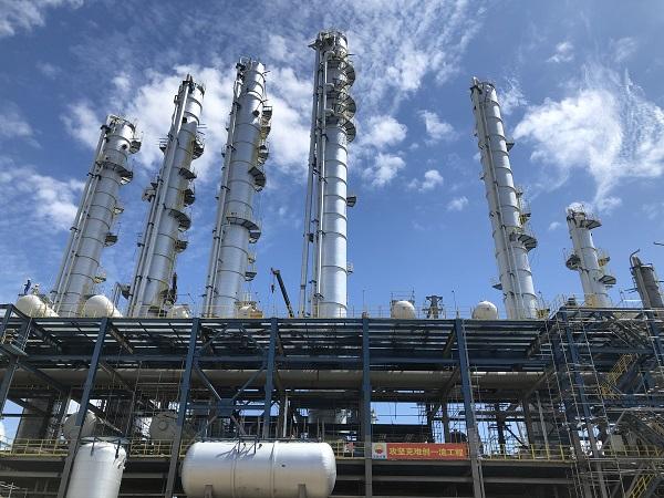 中化泉州100万吨/年乙烯及炼油改扩建项目