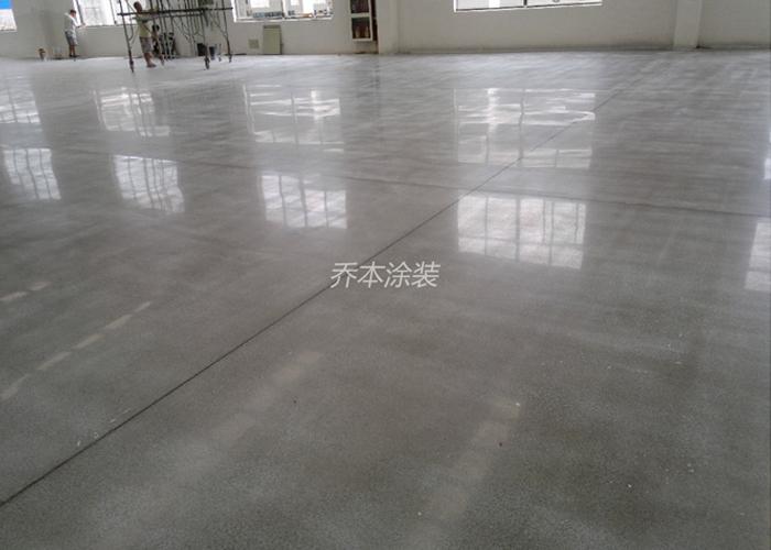 透明液態密封硬化地坪