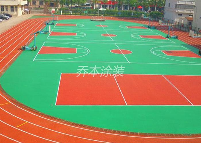 硅PU球場系統
