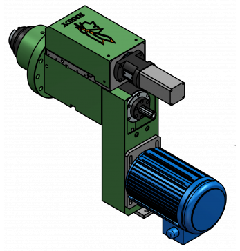 SFSD09 水車鉆孔/攻牙動力頭