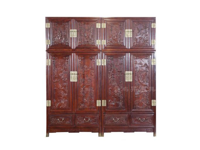 红木储藏柜