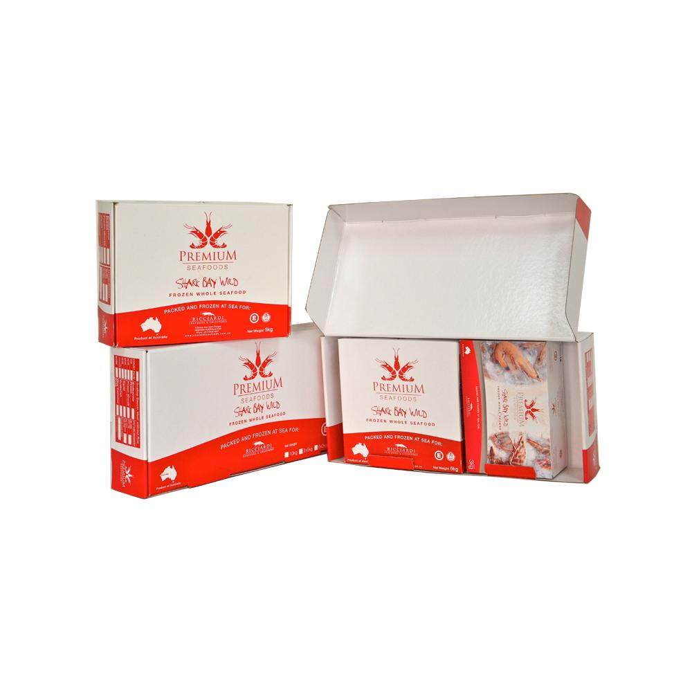 高級凍蝦防水紙盒(內有視頻)