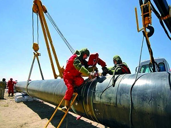 中石化东北石油局八屋- 四平输气管道工程