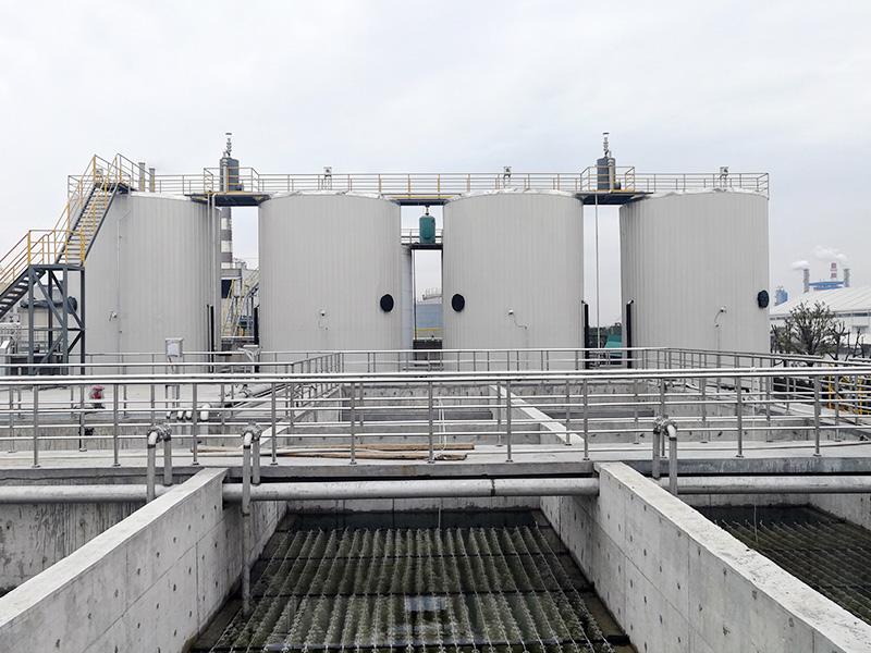 嘉興逸鵬化纖有限公司廢水處理工程