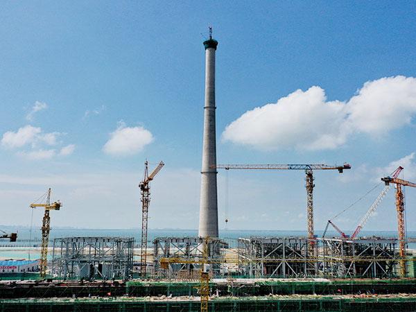 中科炼化一体化动力站项目