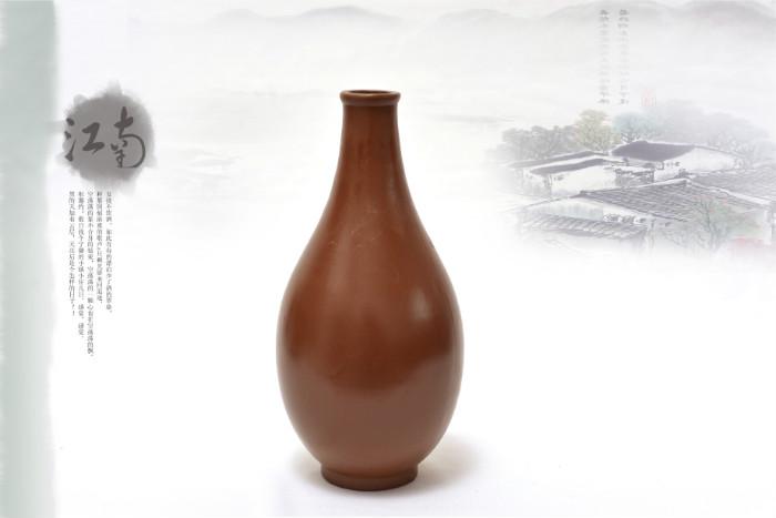 紫砂酒瓶樣品