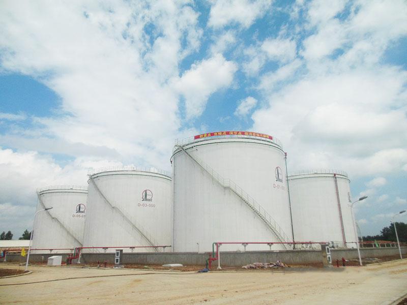 中石化河南石油分公司信阳油库建设工程