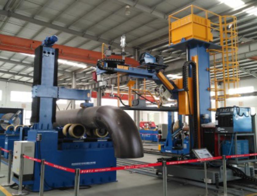 單頭雙驅自動焊接中心