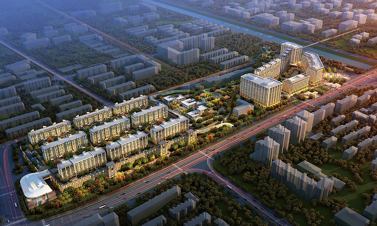 北京玉渊潭乡项目